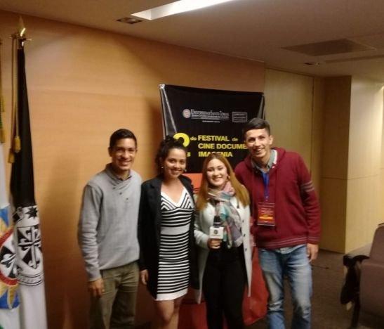 Estudiantes de la UT fueron protagonistas en el ll Festival de Cine Documental
