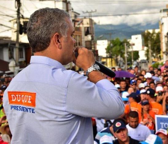 Presidente electo de Colombia