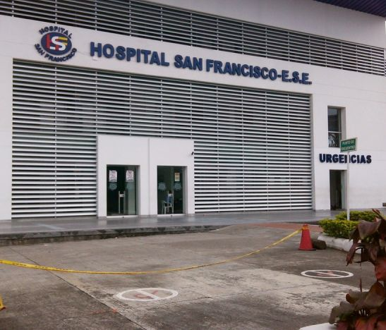 La dirección territorial del Ministerio del Trabajo multó al Hospital San Francisco con 46 millones de pesos