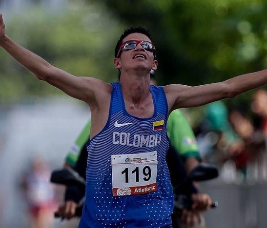 El tolimense Jeisson Suárez logró un nuevo cupo para Colombia en los Juegos Olímpicos de Tokio