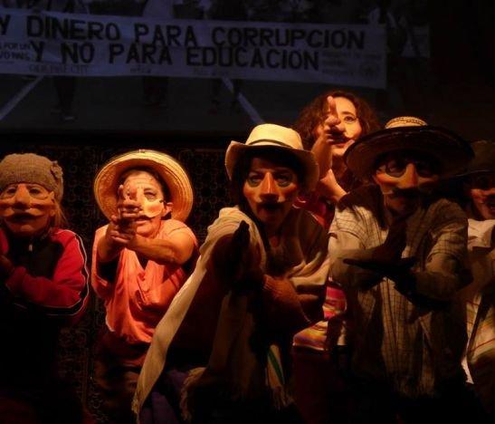 'El resistible ascenso de Arturo UI', una obra de teatro al servicio de los ibaguereños