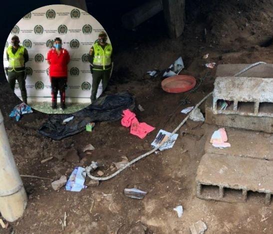 Mujer fue capturada en Palocabildo por amarrar a su hija de cinco años utilizando un lazo y alambre