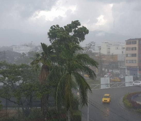 Iniciaron las lluvias súbitas en Ibagué