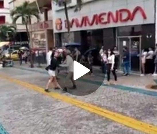 Video en plena carrera tercera genera polémica en Ibagué. ¿Usted que haría?