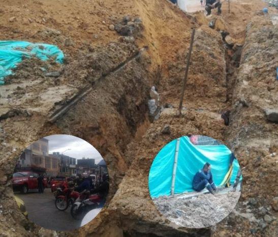 Obras del IBAL dejaron una persona muerta hace pocos minutos en Ibagué