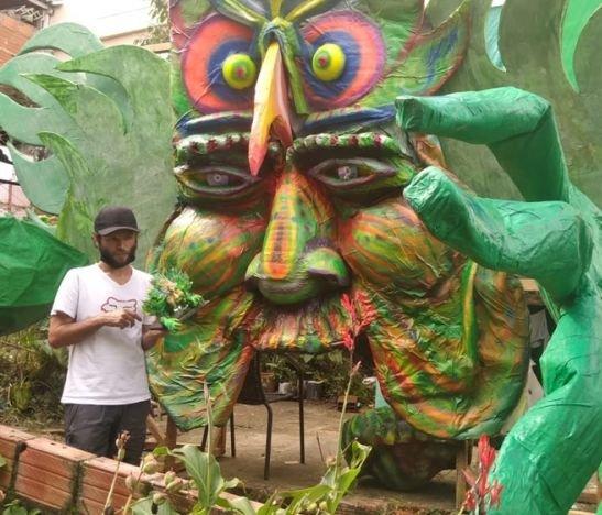 La obra que enaltece el arte y la cultura en pleno centro de Ibagué
