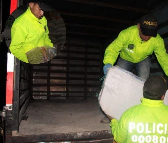 Autoridades incautaron más de media tonelada de marihuana en Ibagué