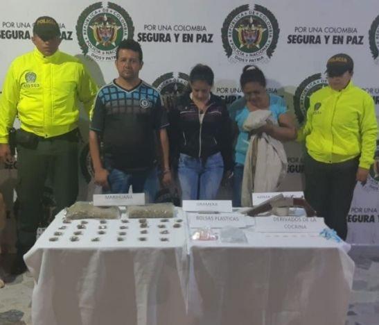 Judicializaron a las tres personas capturadas en el barrio Montecarlo