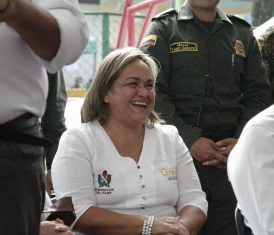 gerente de la Lotería del Tolima, Martha Patricia González Amaya
