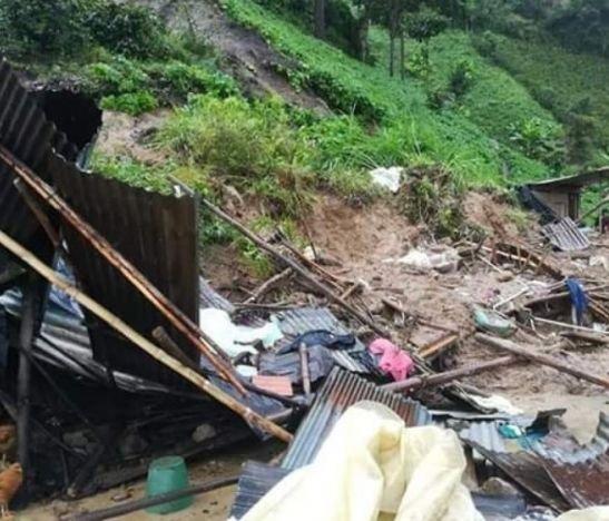 Tragedia en Chaparral por un deslizamiento