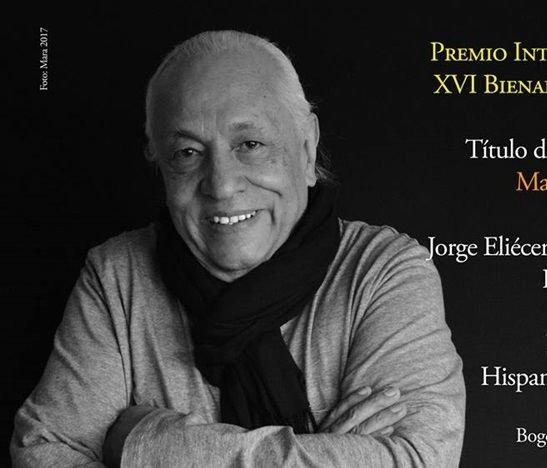 Jorge Eliécer Pardo fue el ganador del XVI de la Bienal Internacional de Novela José Eustasio Rivera