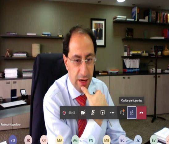 Jose Manuel Restrepo Video conferencia HD