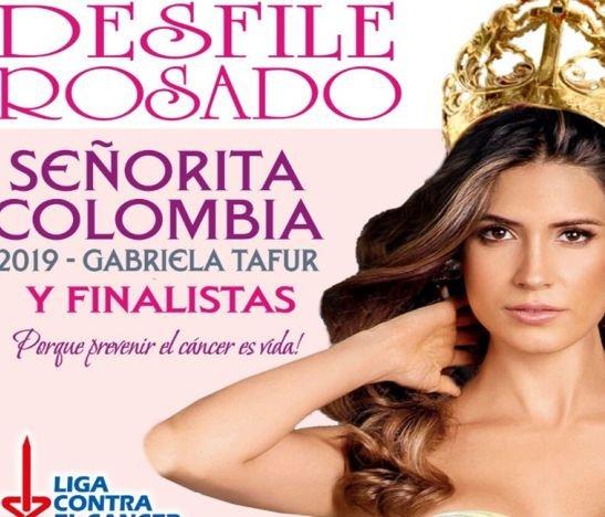 Señorita Colombia abrirá la pasarela del Desfile Rosado