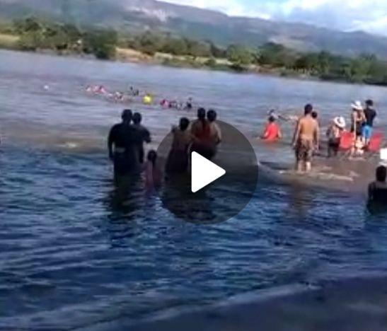 Lancha naufragó en el río Magdalena en la zona rural del Guamo