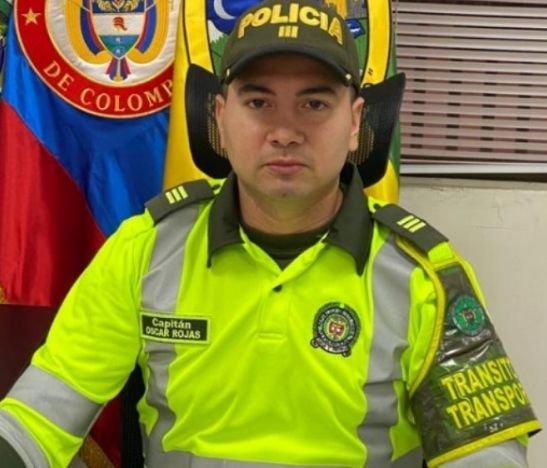 Tolima tiene un nuevo comandante de la seccional de Tránsito y Transporte
