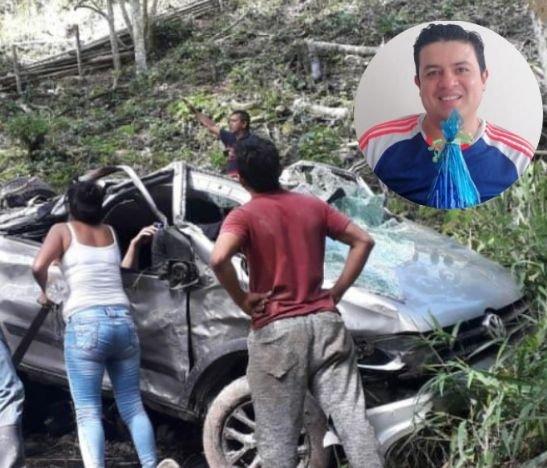 Historia del hombre que estaba desaparecido y sufrió un grave accidente en la vía al Totumo