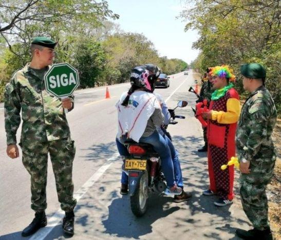 Tropas de la Sexta Brigada acompañaron los 22 puntos del Tolima donde hubo festividades