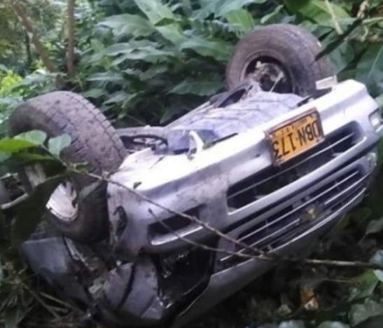Aparatoso accidente dejó millonarias pérdidas materiales