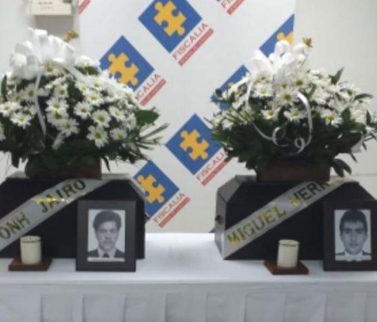 Fiscalía entregó restos óseos de dos víctimas del conflicto armado a sus familiares