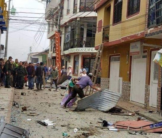 A Ibagué fue trasladado un ciudadano que resultó gravemente herido tras la explosiónen Santa Isabel