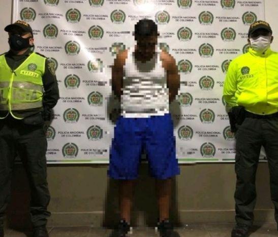 Capturaron a alias Abejón tras un operativo de la Sijín