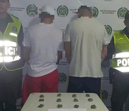 Operativo de la Policía permitió la captura de dos hermanos conocidos como los gemelos