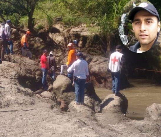 Cinco días se completan de la desaparición de un turista bogotano ahogado en el río Lagunilla