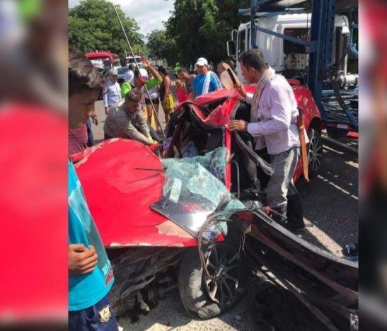 Dos funcionarios de la Personería de Dolores murieron en un trágico accidente