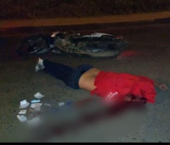 Motociclista protagonizó un grave accidente esta madrugada en Ibagué
