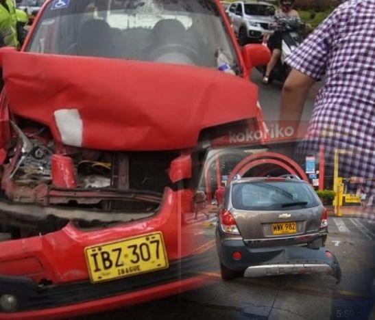Fuerte accidente de tránsito frente a Kokoriko de la 43 con 5ª dejó un herido