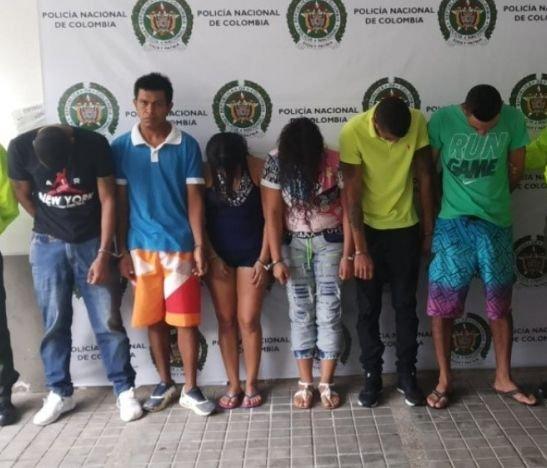 Policía departamental desarticuló la banda delincuencial Los Niches