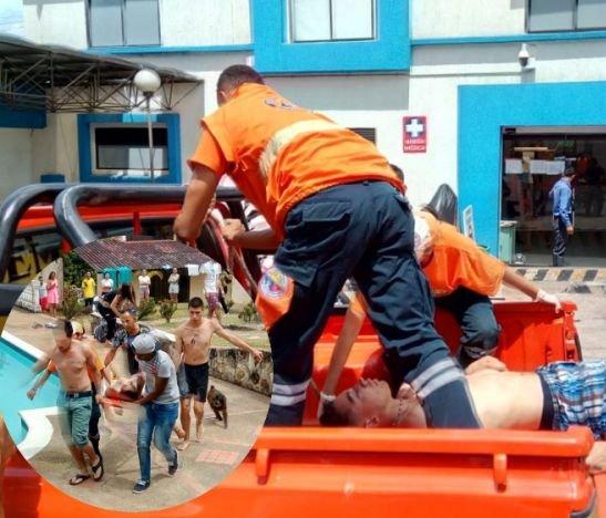 Joven que sufrió un accidente en piscina de Melgar permanece en delicado estado de salud