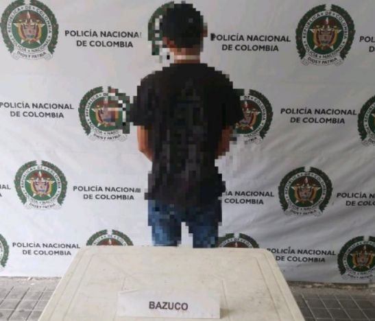 Sujeto dedicado a vender derivados de la Cocaína en Melgar fue capturado