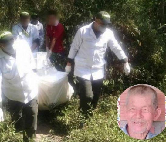 Abuelito que había desaparecido desde mediados del mes de mayo fue encontrado muerto