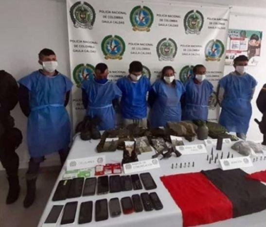Cayeron los integrantes de la banda delincuencial 'Los del Páramo'