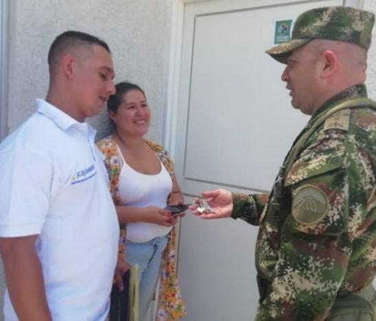 29 soluciones de vivienda fueron entregadas a los Héroes de la Fuerza Pública y sus familias