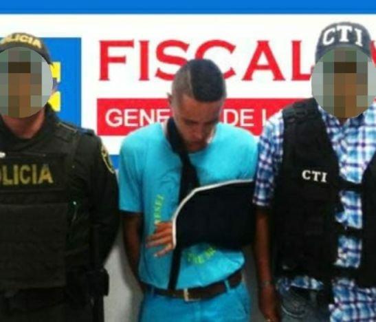 Trabajo operativo entre el CTI y la Policía permitió la captura de alias El Calvo