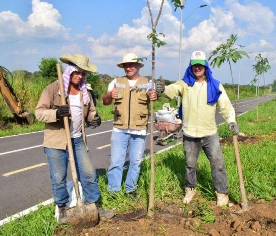 990 árboles serán sembrados junto a la ciclorruta del aeropuerto Perales