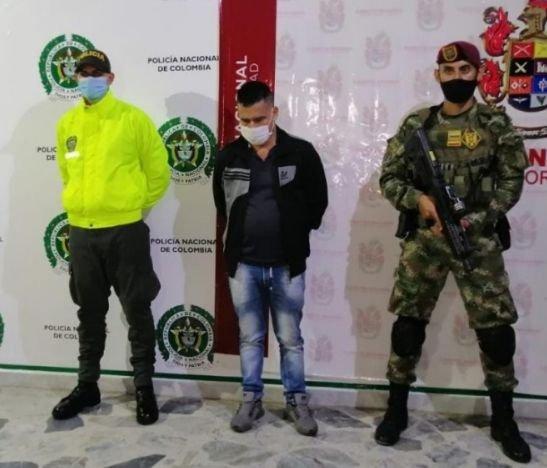 Policía y Ejército capturaron a líder de la banda delincuencial Los Colonos