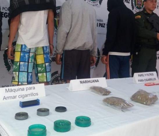 Autoridades lograron la captura de 14 personas por distribuir alucinógenos en Ibagué