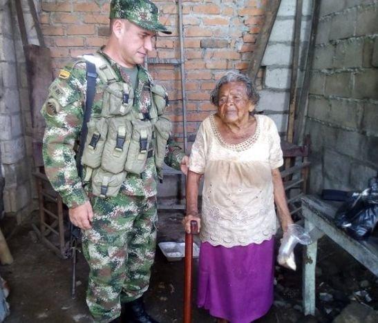 Sexta Brigada brindó ayuda a damnificados por inverno en el Tolima