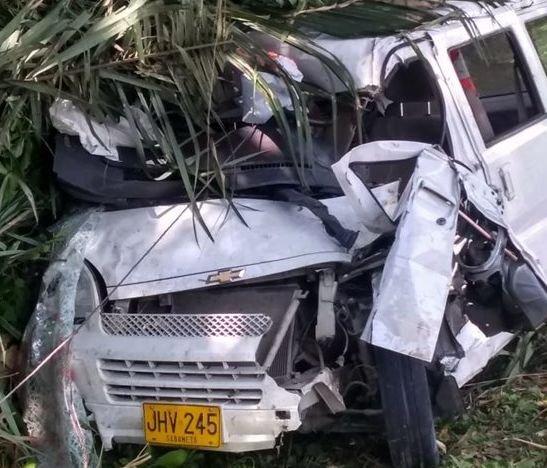 Grave accidente de tránsito ocurrió en la vía entre Lérida y Venadillo