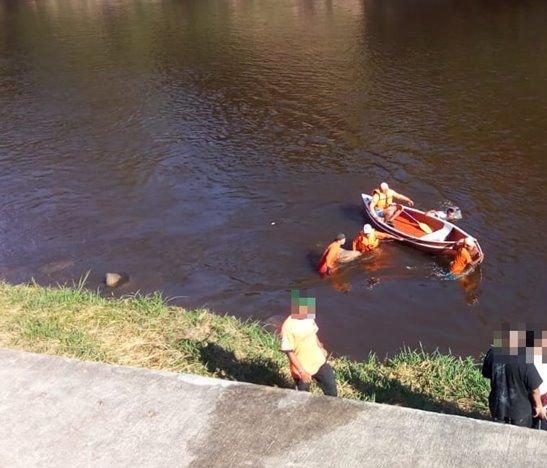 Hallaron el cuerpo de un joven el río Sumapaz