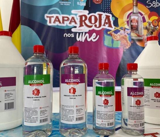 Cerca 100.000 unidades de alcohol ha vendido la Fábrica de Licores del Tolima