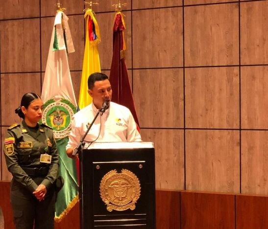 Alexander Tovar, secretario del Interior del Tolima