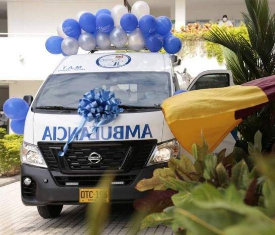 Hospital San Rafael cuenta con nueva ambulancia medicalizada