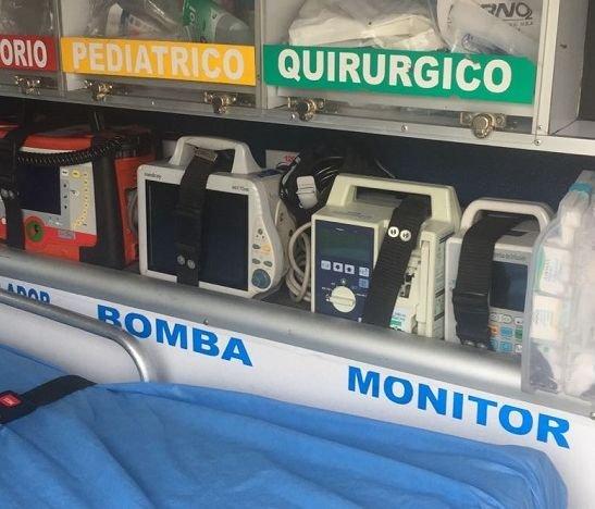 ¿Ambulancias operan con equipos médicos dañados?