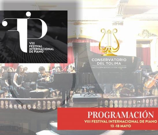 Conozca la programación del VIII Festival Internacional de Piano en Ibagué