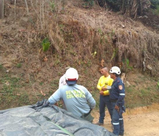 Comunidad indígena de Planadas se negó a recibir apoyo para mitigar incendio forestal