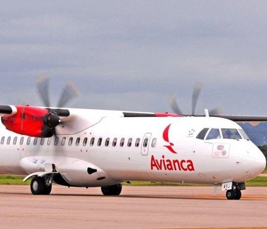 Aviones ATR Avianca